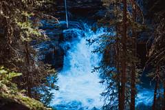 MH5_9263 (memories by Mark) Tags: rockies waterfall alberta banff rockymountains banffnationalpark johnstoncanyon