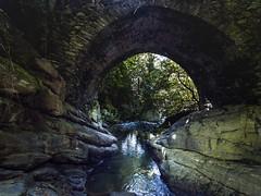 Under the bridge (giacomo_faccio) Tags: old bridge creek stream italia liguria ponte ruscello vecchio montebeigua dji djiphantom4