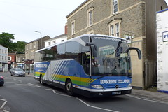 BV58MKG Bakers Dolphin 8 (neiljennings51) Tags: bus mercedes benz coach mare dolphin somerset super coaches weston bakers psv pcv tourismo