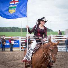 Crossfield Rodeo 2015 (tallhuskymike) Tags: horse event alberta rodeo cowgirl 2015 crossfield