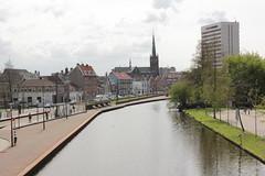 Schiedam Centrum (Patrick Klaverweide) Tags: brug centrum schiedam schie branders schiedamse