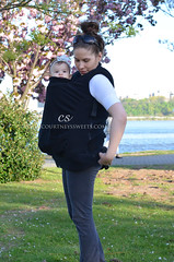 Boba Vest (Courtneys Sweets) Tags: coat babywearing boba vest may2013