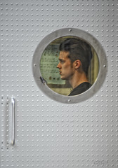 Watch Out He Doesn't Get Into The Telepod!! (G8lite) Tags: photoshop nikon flickr films fantasy thefly hdr teleporter jeffgoldblum davidcronenberg telepod d700 g8lite visionsofthemind sethbrudle