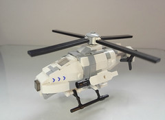 "U.C.H.D ""翠鳥"" Helidrone 2 (Empty Sandbox) Tags: jack lego purge panasian brickarms thepurge helicopterdrone uchd helidrone"