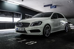 Beautiful A-Class (Alaa Benz) Tags: stuttgart mercedesbenz a200 aclass w176