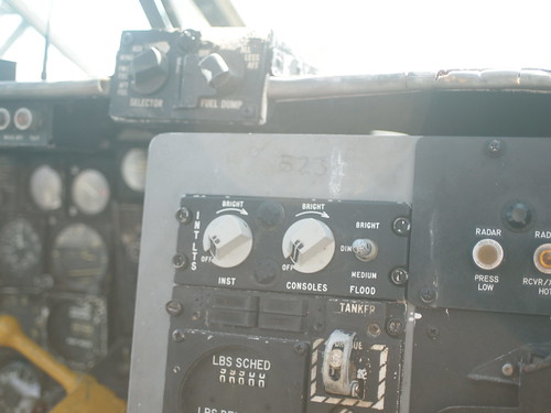 Douglas EKA-3B Skywarrior cockpit P5120763
