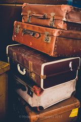 another suitcases.. (Hyette) Tags: old vintage trainstation suitcases jackfilm cararosepreset