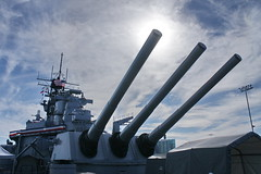 1210-USS-Iowa-134 (musematt11) Tags: california ca museum inch ship pacific wwii iowa cannon ww2 guns 16 battleship usnavy usn uss sanpedro warship worldwar2 in mark7 bb61