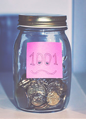 101 in 1001 (girlbehindthereddoor) Tags: project gold coin day coins sticky postit australia note 101 jar zero challenge 1001 stickynote postitnote 101in1001 dayzeroproject