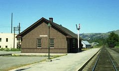 CPR Station, Princeton, BC (R R Horne) Tags: railroad station bc railway terminal kettle valley princeton depot cp railways cpr railroads kettlevalleyrailway kvr