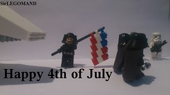 Happy 4th of July (Theodor M.) Tags: usa america army happy star ship lego darth shuttle stormtrooper imperial anakin wars vader skywalker minifigure legoman minifigur minifiger sirlegomand