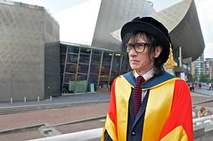 John Cooper Clarke receives honorary doctorate