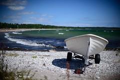 Ljugarn (gunnareld) Tags: sea water boat sweden sverige gotland vatten ljugarn