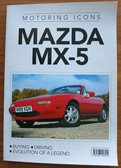 Mazda MX-5 (D70) Tags: from magazine media brighton icons phil pages na editorial northamerica kelsey director mazda isbn 97 publication mx5 whsmith motoring purchased mk1 weeden 2013 9781907426919