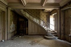The staircase... (aphonopelma1313 (suicidal views)) Tags: abandoned decay nrw rotten derelict urbanexploring verlassen urbex verfall lostplace vergesseneorte