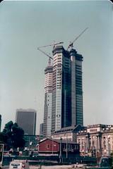 434 16 1982-06-03 Frankfurt Skyscraper (Dennis Brumm) Tags: germany 1982 hessen frankfurt frankfurtammain westgermany hesse brd bundesrepublikdeutschland june1982 federalrepublicofgermany