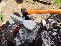 start of a spoon (fishfish_01) Tags: wood wooden folkart spoon carving carve woodenspoon bushcraft traditionalcraft