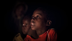 Zambia Kids (Wim Storme) Tags: africa kids night lowlight nikon f14 85mm bonfire lowkey zambia d600