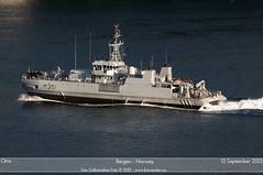 KNM Otra - M351 (Aviation & Maritime) Tags: norway bergen otra warship minesweeper knm minehunter royalnorwegiannavy m351 kongeligenorskemarine knmotra m351otra