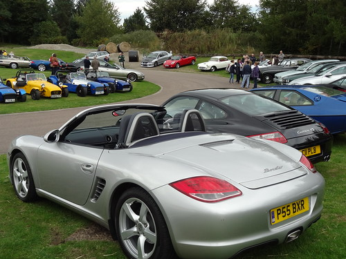 Porsche Club at GMC Launch Event