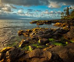 Light on Kaanapali coast (mojo2u) Tags: ocean hawaii maui kaanapali lavarock nikon2470mm d700nikon
