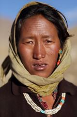 Nomad people in Changtang, Ladakh (Dietmar Temps) Tags: travel portrait people india mountains tourism asia desert faces buddha buddhist traditional culture buddhism tent tibet adventure journey zanskar nomad kashmir tradition himalaya leh ladakh jammu highaltitude tsomoriri tsokar changtang vision:people=099 vision:face=099 vision:portrait=099