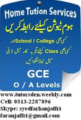 olevel tutor, commerce, science, karachi, pakistan, alevel teacher, tuition