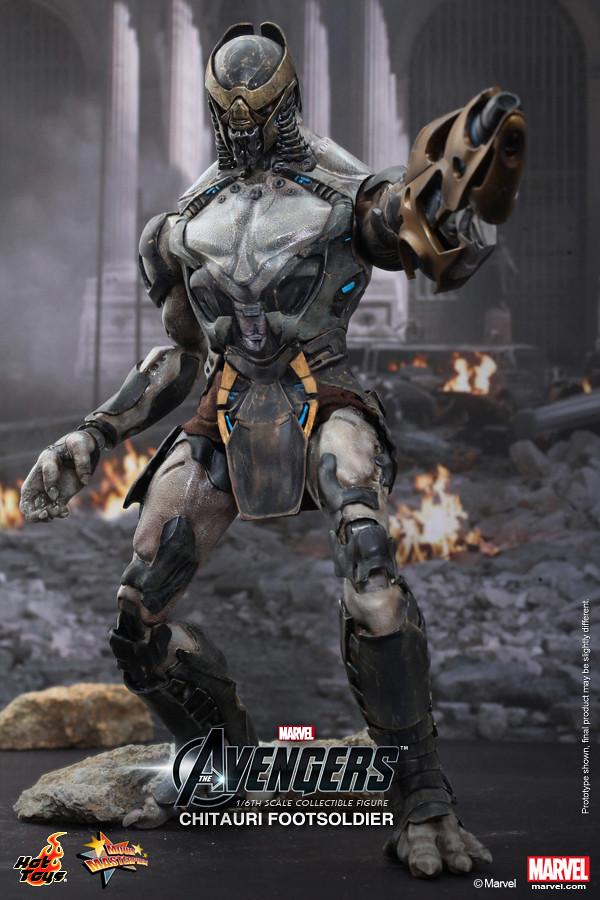 Hot Toys - MMS226 - 復仇者聯盟: 1/6 比例 奇塔瑞步兵