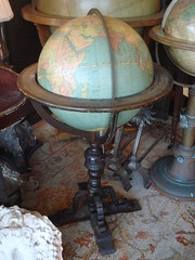 "18 INCH WILLIAMS-PRIDHAM INDEX GLOBE, C. 1930'S. • <a style=""font-size:0.8em;"" href=""http://www.flickr.com/photos/51721355@N02/11330364895/"" target=""_blank"">View on Flickr</a>"