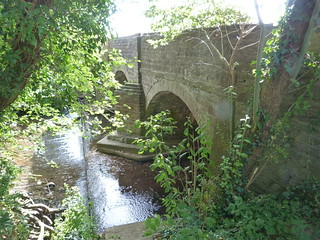 Bridge over the River Dore at Vowchurch, Herefordshire