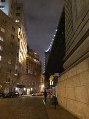 Polar Vortex Eve in DUMBO 3 (C Merry) Tags: nyc newyorkcity architecture waterfront dumbo brooklynbridge manhattanbridge nightshots gothamist waterstreet streetscenes brooklynbridgepark brooklynwaterfront dumbobrooklyn janescarousel nystatepark polarvortexinbrooklyn polarvortexeveindumbo nightinbrooklyn