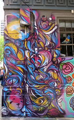 Hosier Lane Mural by Ruskidd (wiredforlego) Tags: streetart graffiti mural au australia melbourne mel urbanart cbd ruskidd vision:text=0501 vision:outdoor=0677