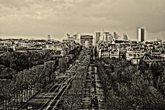 Champs Elyses (agnesgtr) Tags: paris champselysees avenue arcdetriomphe placedelaconcorde