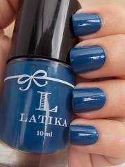 Blue Jelly - Latika (Natalia Breda) Tags: azul desafio latika esmaltenacional
