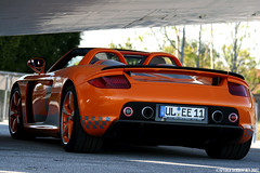 Techart Carrera GT Photoshoot (Spyder Dobro) Tags: orange airport pipes porsche tuner straight rims supercar hanger exotics carreragt tuned techart hypercar techartcarreragt
