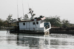 Shipwreck, Shatt Al-Arab Waterway, Iraq