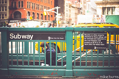 NYC Subway (Mike Burns Photography) Tags: new york city newyorkcity nikon mikeburns d600 mikeburnsphotography