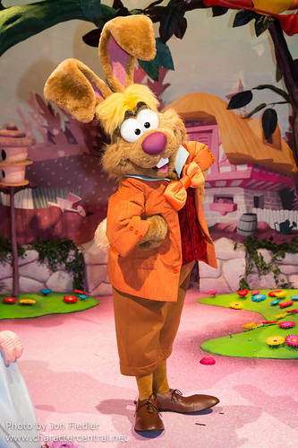 March Hare At Disney Character Central