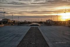 DSC_8141 (world's views) Tags: sunset portugal fountain square gaia 2014 senhordapedra gulpilhares