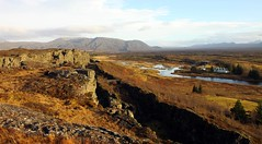 Thingvellir (herrera.julien) Tags: nature plaque canon landscape eos iceland julien paysage thingvellir þingvellir islande herrera faille 50d techtonique