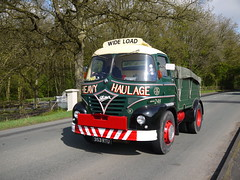 Foden S.21 Ballast Tractor 353RTU (Ben Matthews1992) Tags: road old tractor classic truck vintage wagon cheshire wide run lorry commercial vehicle preserved heavy load 1961 ballast knutsford 2014 a50 foden haulage thecheshirerun2014