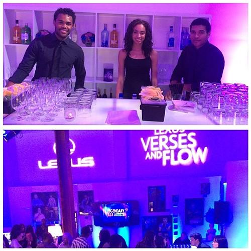 It was such a great week of events for @lexus! #sirenstudios #lexus #events #eventlife #werk #breadandwine #versesandflow #bartenders #staffing #hollywood #200proofla #200proof
