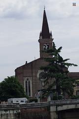 Church of San Fermo (Chiesa di San Fermo) (philippe.Onwire) Tags: italy church europe italia churches cathedrals verona italie veneto verone gothicstyle santaanastasia sanzenomaggiore