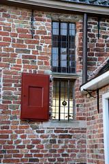 HFF window  on Explore (Snoek2009) Tags: brick window bars stones explore hatch groningen hff weem grootwetsinge kloostermoppen happyfencefriday