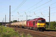 60040 6D43 beckitts 30.05.2009 (Dan-Piercy) Tags: tank lindsey empties jarrow dbs copmanthorpe ews class60 60040 6d43 beckitts