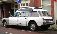 1973 Citroën ID 20 F Break Ambulance (rvandermaar) Tags: 1973 citroën id 20 f break ambulance citroen citroënds citroends citroënid citroenid sidecode3 import importkenteken rvdm