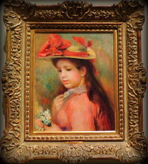 "Renoir's ""Young girl with a hat"" (Yolanta Z) Tags: renoir montrealmuseum"