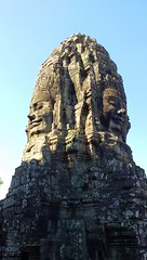 Glory of Face Tower (stardex) Tags: sunlight heritage face stone temple ancient cambodia buddhist culture unesco siemreap bayon facetower stardex