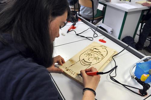 i-Atelier de dessin et de pyrogravure©l-Moriceau