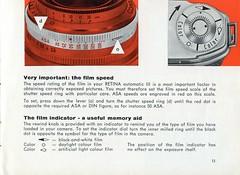 Kodak Retina Automatic III - Instructions for use - Page11 (TempusVolat) Tags: film 35mm vintage for mr kodak iii automatic use instructions guide gareth retina tempus morodo volat mrmorodo garethwonfor tempusvolat